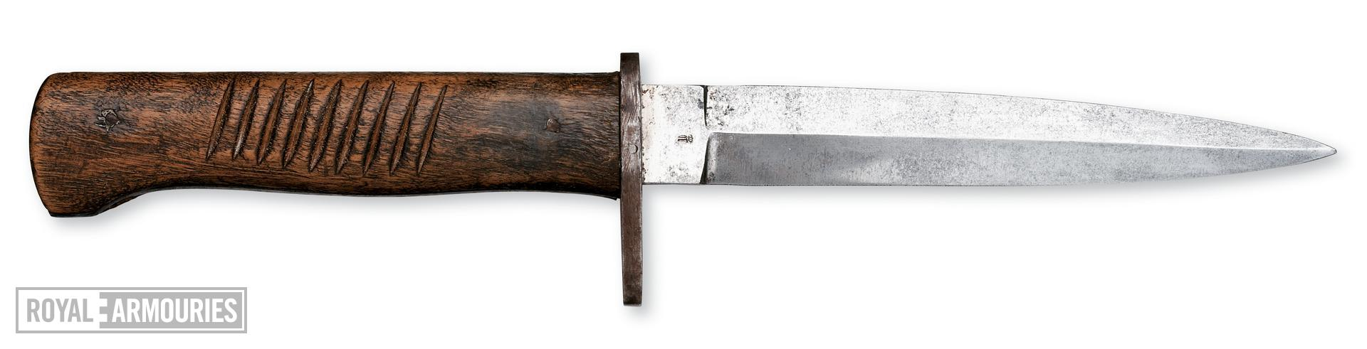 Trench knife. German, 1914-18.