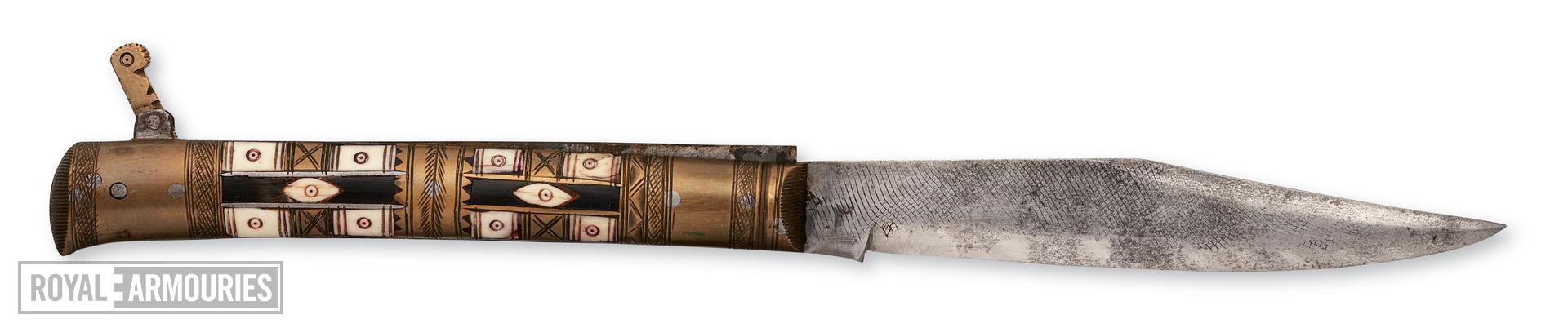 Knife Folding knife