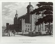 Thumbnail image of Print The Great Court of the Tower, dated 1799
