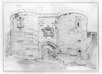Thumbnail image of Drawing of the Middle Tower