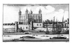 Thumbnail image of Print Castrum Royale Londinense, vulgo The Tower, by W. Hollar.