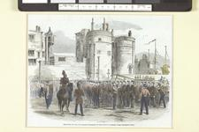 Thumbnail image of Essex Militia Parading at the Tower of London