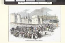 Thumbnail image of Grenadier Guards leaving the Tower of London
