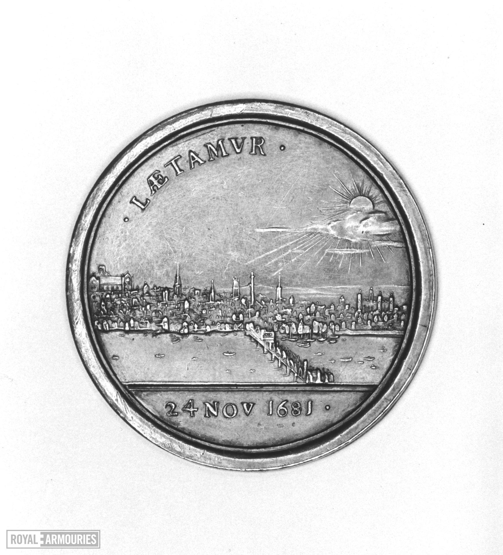 Commemorative Medal - By G. Bower