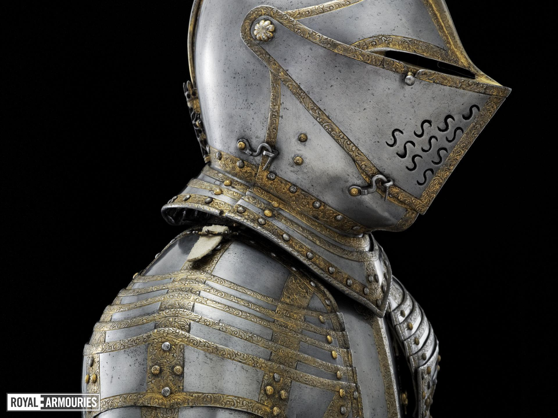 Armour of King Charles I as a boy