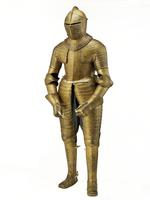 Thumbnail image of Field armour of King Charles I (known as the Gilt armour). Dutch, about 1612-13. Possibly made by Charles Dartene (II.91)