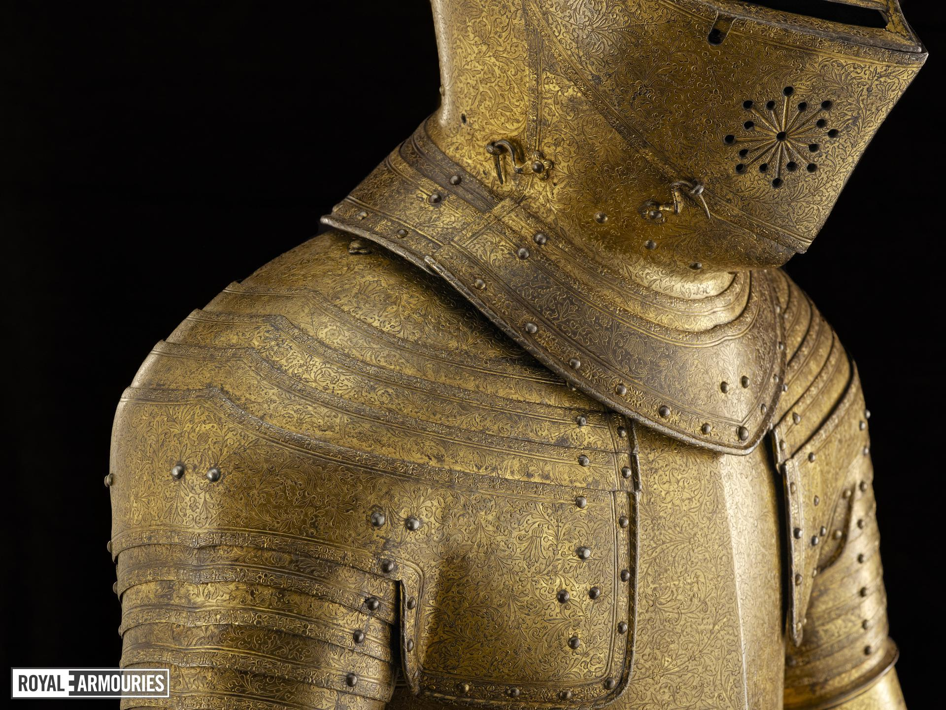 Armour of King Charles I, made for Henry Prince of Wales