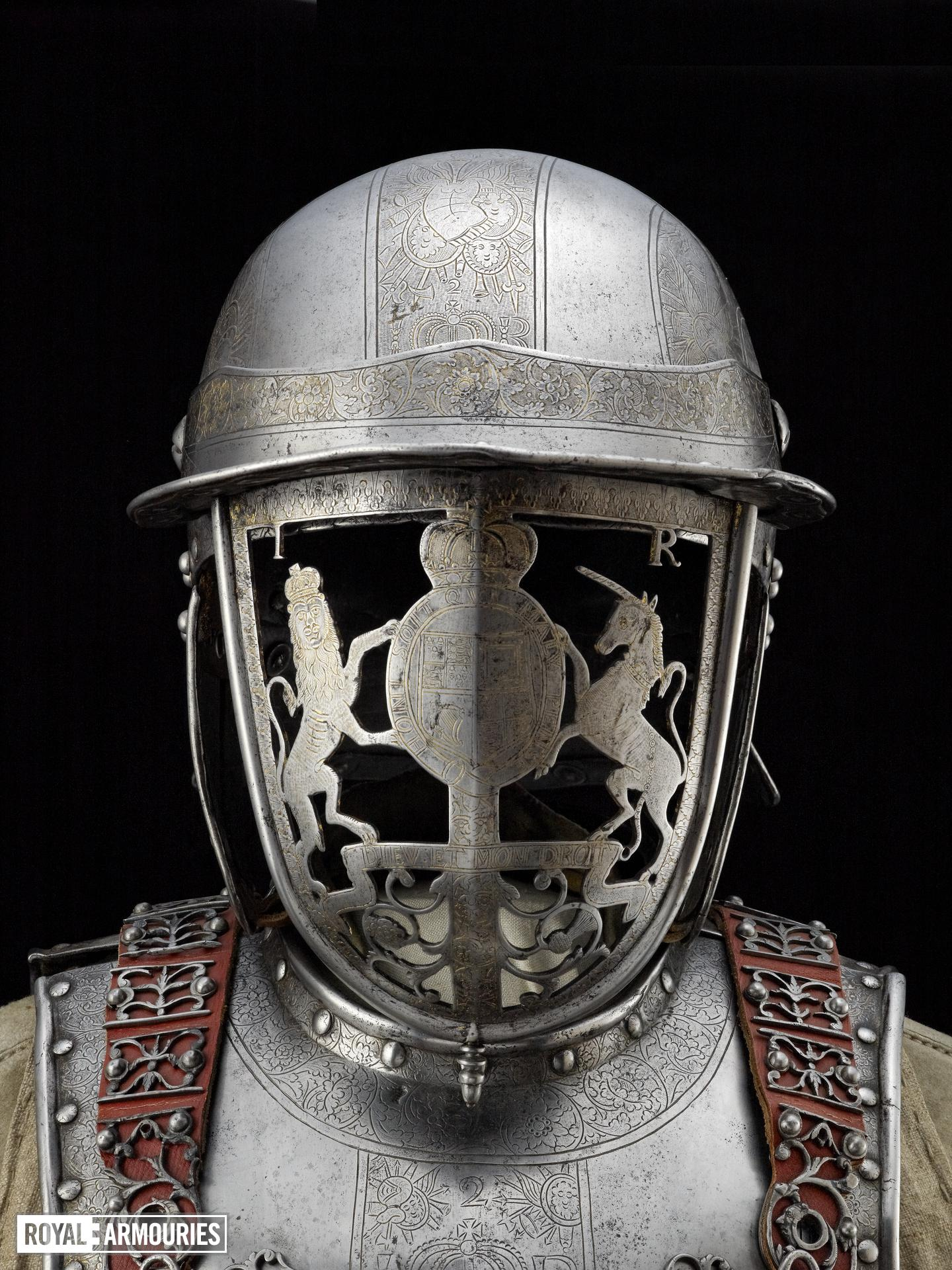 Armour of King James II (1633-1701) by Richard Hoden