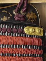 Thumbnail image of Armour (domaru) - Domaru Presented to King James I by Tokugawa Hidetada, by Iwai Yozaemon, possibly for Takeda Katsuyori originally and modified for presentation about 1610.