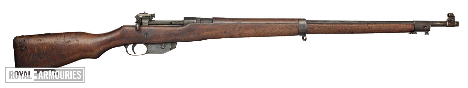 Centrefire bolt-action magazine rifle - Ross Model 1910