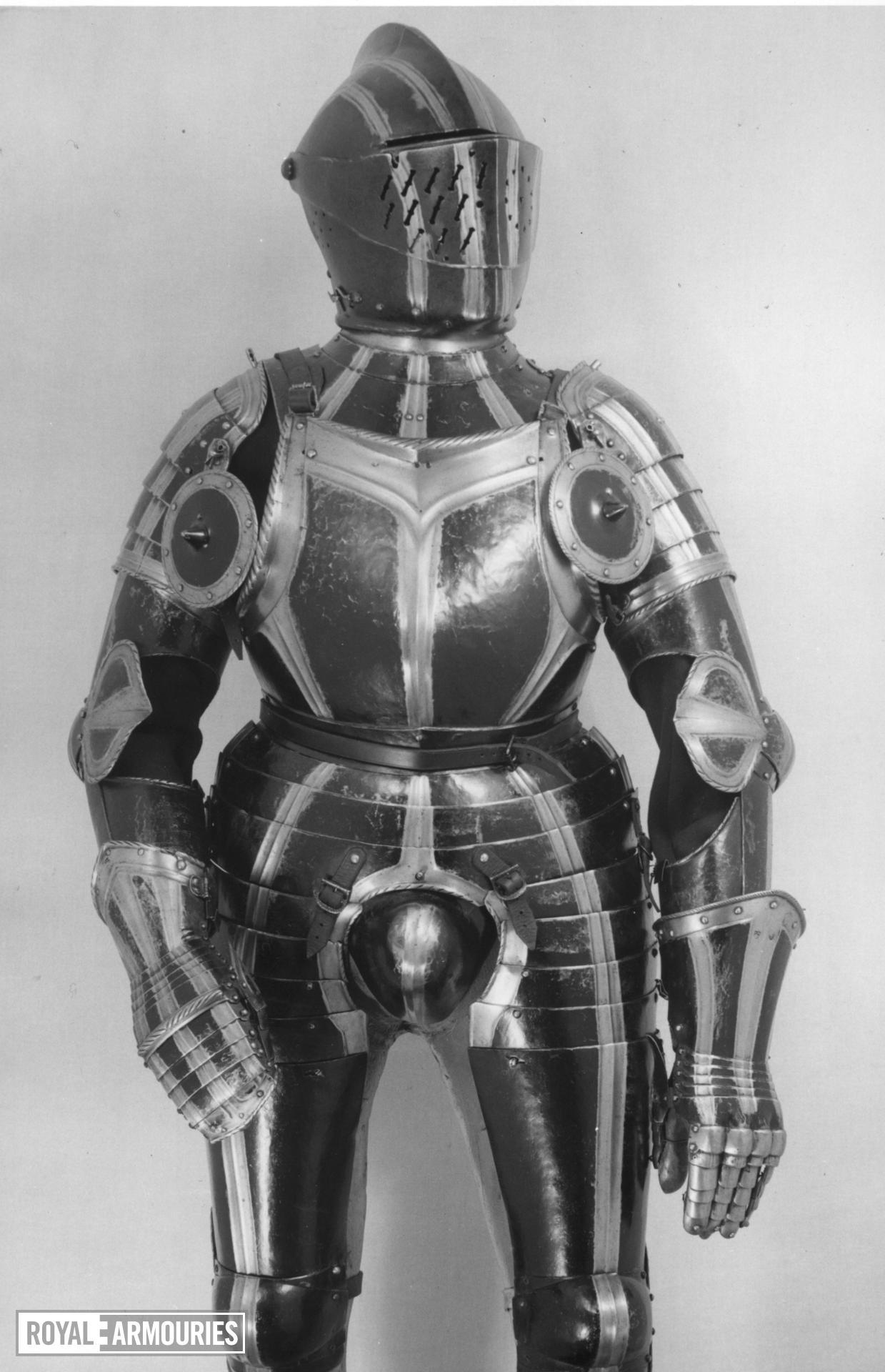 Three-quarter armour For a Reiter