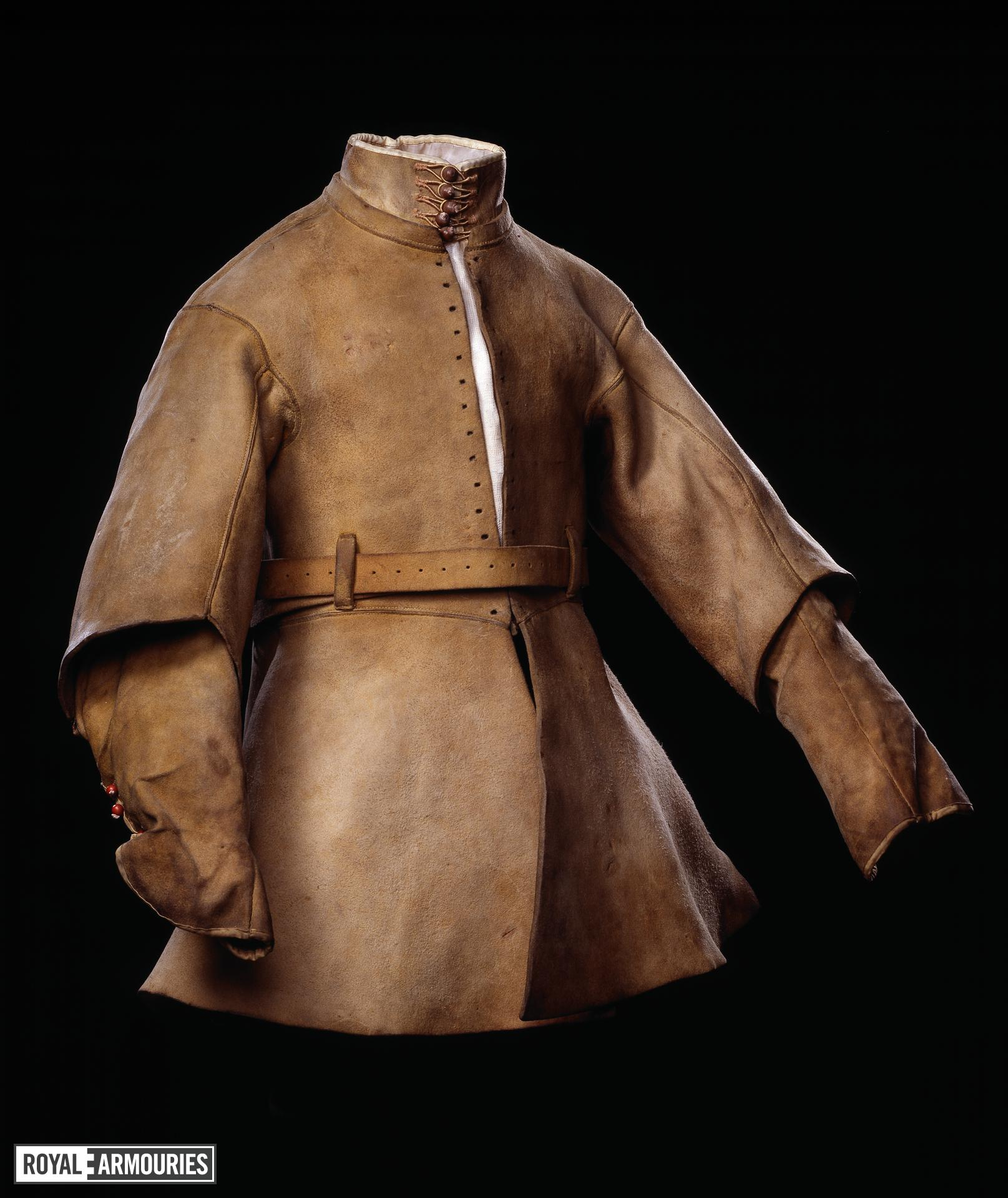Buff coat Possibly for Alexander Popham, Littlecote collection