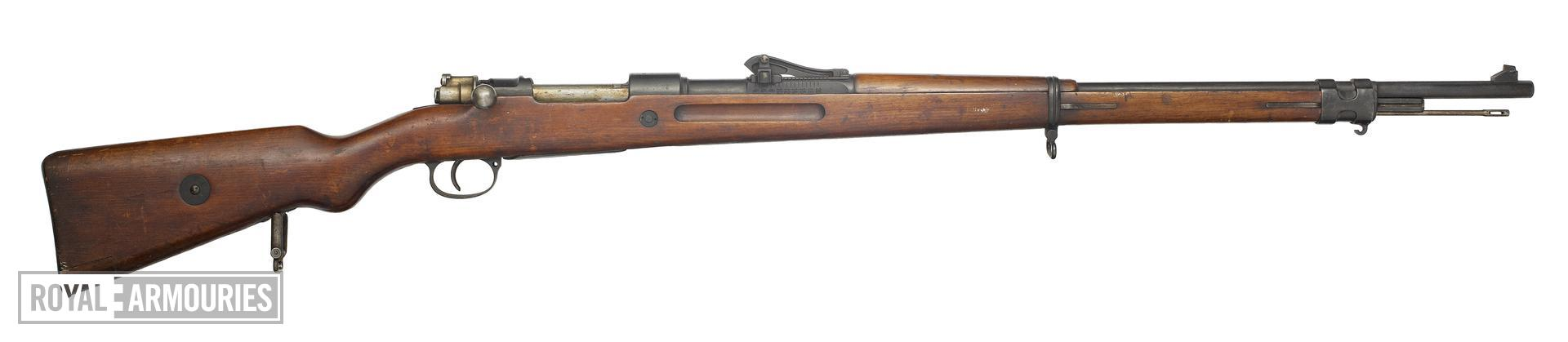 Centrefire bolt-action magazine military rifle - Mauser Gewehr 98 rifle