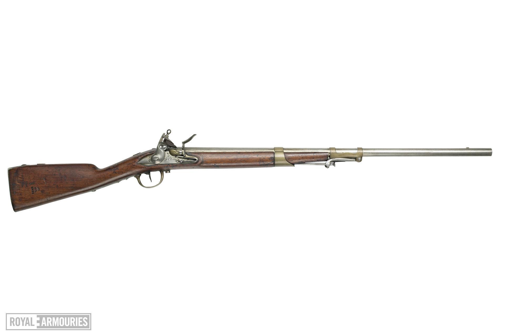 Flintlock military carbine - Model 1781