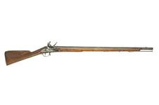 Thumbnail image of Flintlock muzzle-loading military musket - India Pattern Sea Service model