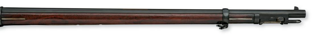 Thumbnail image of Flintlock breech-loading rifle - By John Hirst Screw plug system below barrel.