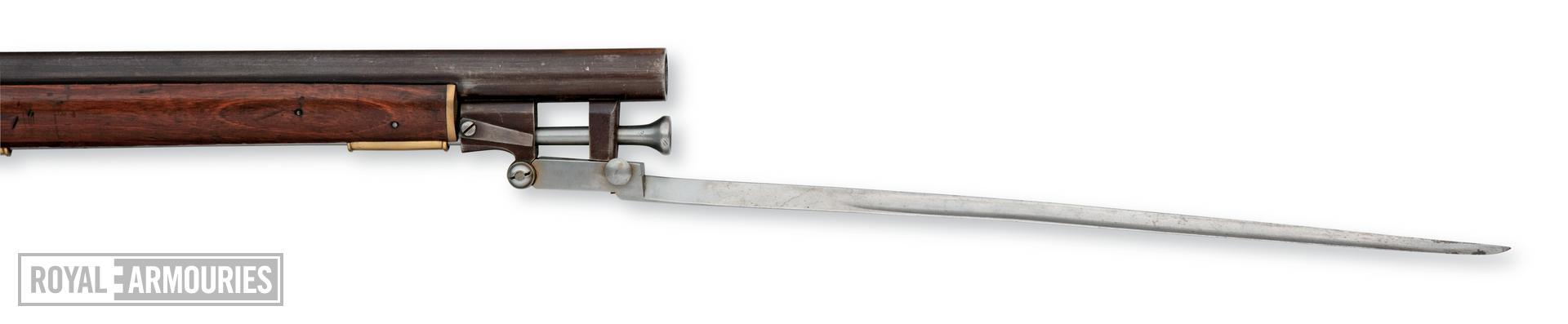 Percussion muzzle-loading carbine For constabulary