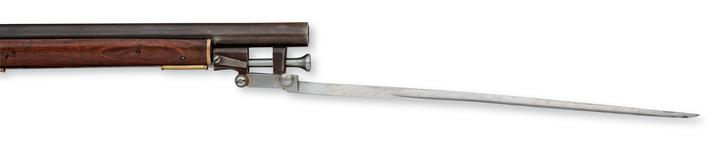 Thumbnail image of Percussion muzzle-loading carbine - English Carbine. For constabulary.