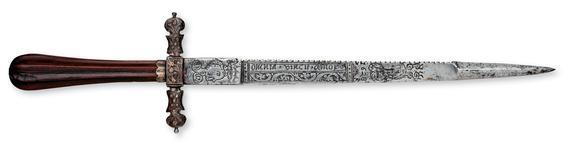Thumbnail image of Dagger and sheath Dagger and sheath