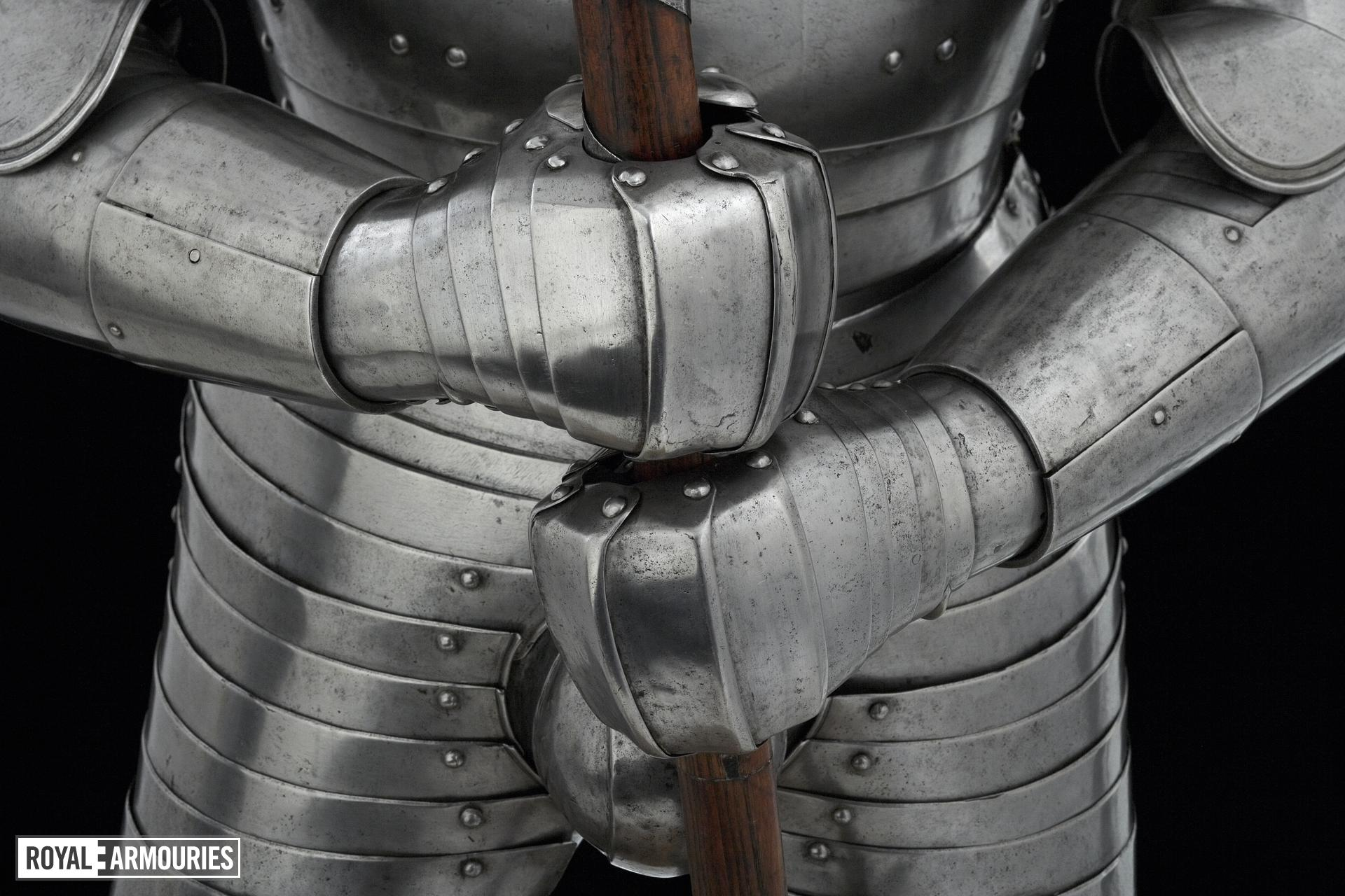 Foot combat armour Henry VIII's foot combat armour
