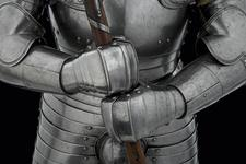 Thumbnail image of Foot combat armour Henry VIII's foot combat armour