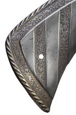 Thumbnail image of Saddle steel from the Wilton armour of Henry VIII
