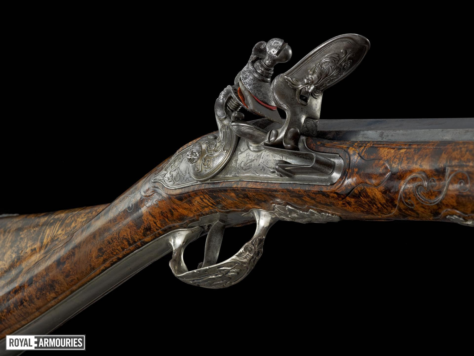 Flintlock sporting gun - By Michele Lorenzoni