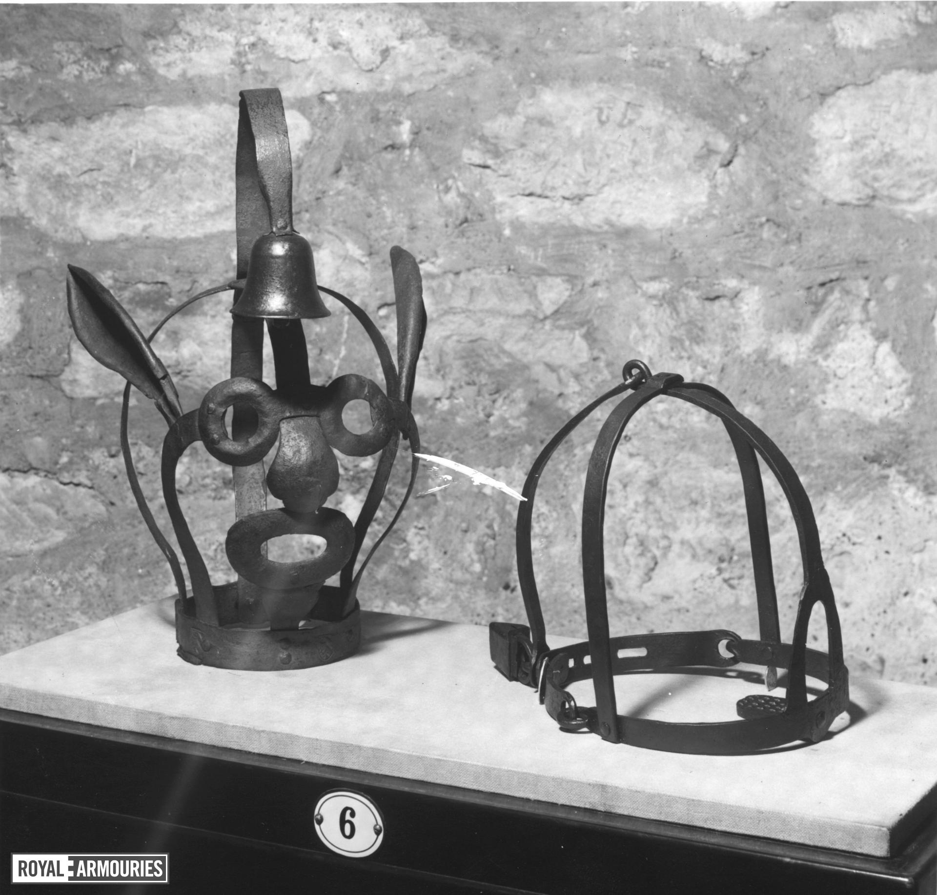 Scold's Bridle Stamped with 'arms of Nuremberg'