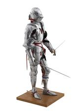Thumbnail image of Model of a man at arms in Milanese armour of about 1450. British, 1972. Made by Peter Wroe (II.194)