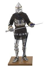 Thumbnail image of Model of a man at arms in Italian armour of the late 14th century. British, 1975 (II.333)