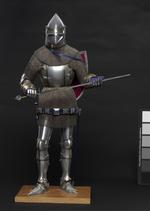 Thumbnail image of Model armour - Model Armour Model of an Italian armour of the late 14th century, by Peter Wroe