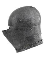 Thumbnail image of Armet Early north Italian armet, missing visor, with vervelles attributed to Benedetto da Molteno