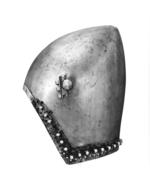 Thumbnail image of Bacinet - The Lyle bacinet Late 14th century bascinet with 'houndskull' visor and aventail