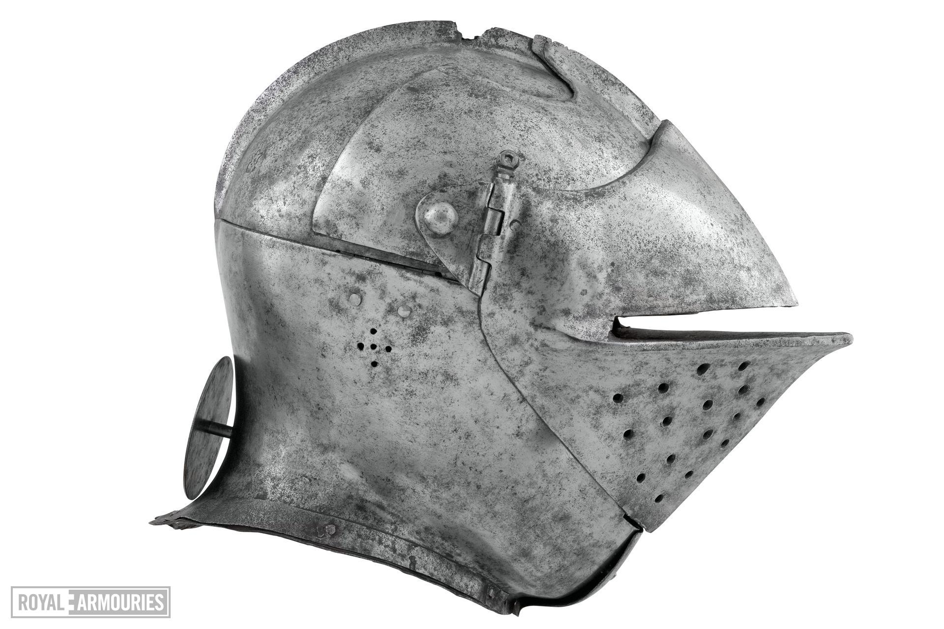 Armet for the tilt. Flemish or Italian, about 1510