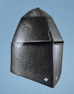 Thumbnail image of Helm - Great Helm Great helm used as funerary achievement