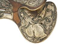 Thumbnail image of Saddle possibly for the Hungarian Dragon Order, early 15th century, Austria (VI.95)
