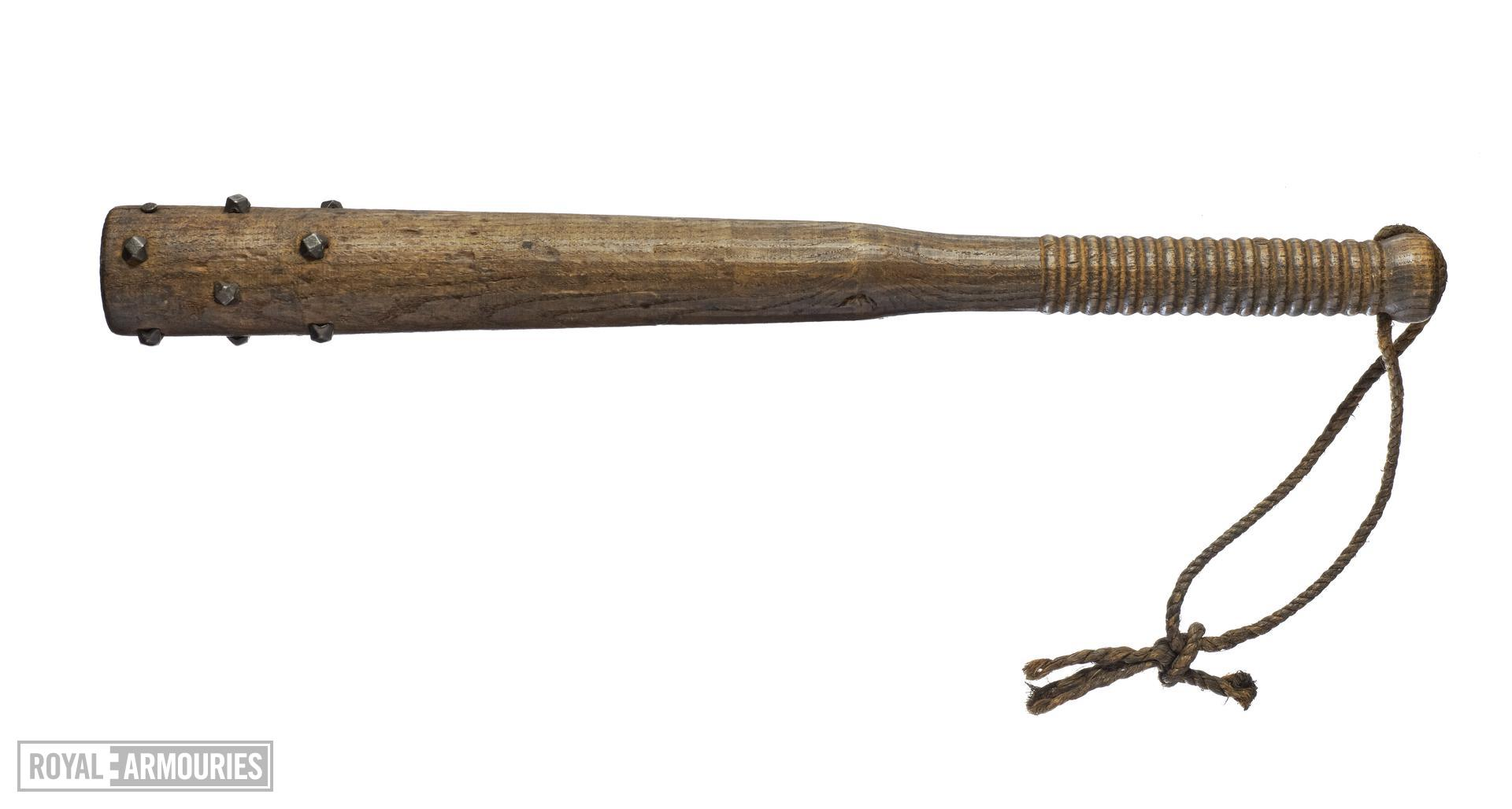 Trench club. French, about 1917