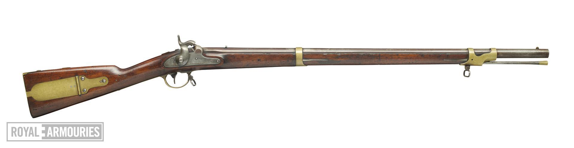 Percussion muzzle-loading rifle - Model 1841 Mississippi Rifle By Robbins & Lawrence