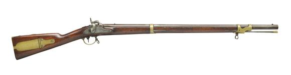 Thumbnail image of Percussion muzzle-loading rifle - Model 1841 Mississippi Rifle By Robbins & Lawrence