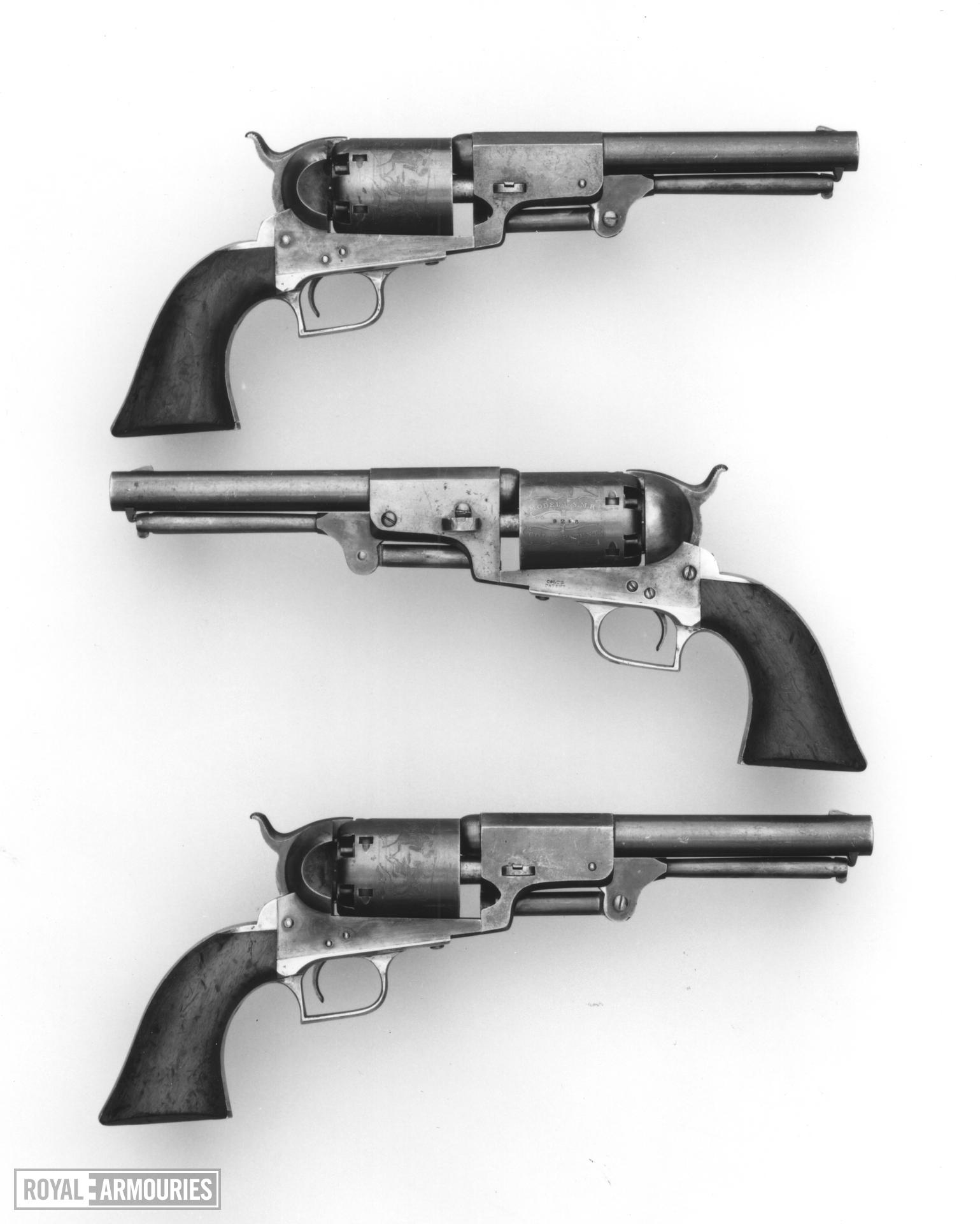 Percussion six-shot revolver - Colt Dragoon, 2nd Model Pattern 1850