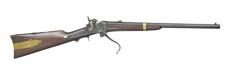 Thumbnail image of Percussion breech-loading military carbine - Sharps Model 1852 (John Brown)