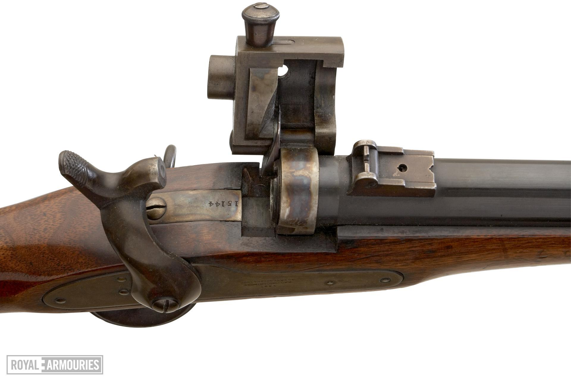 Rimfire breech-loading military carbine - Joslyn Carbine