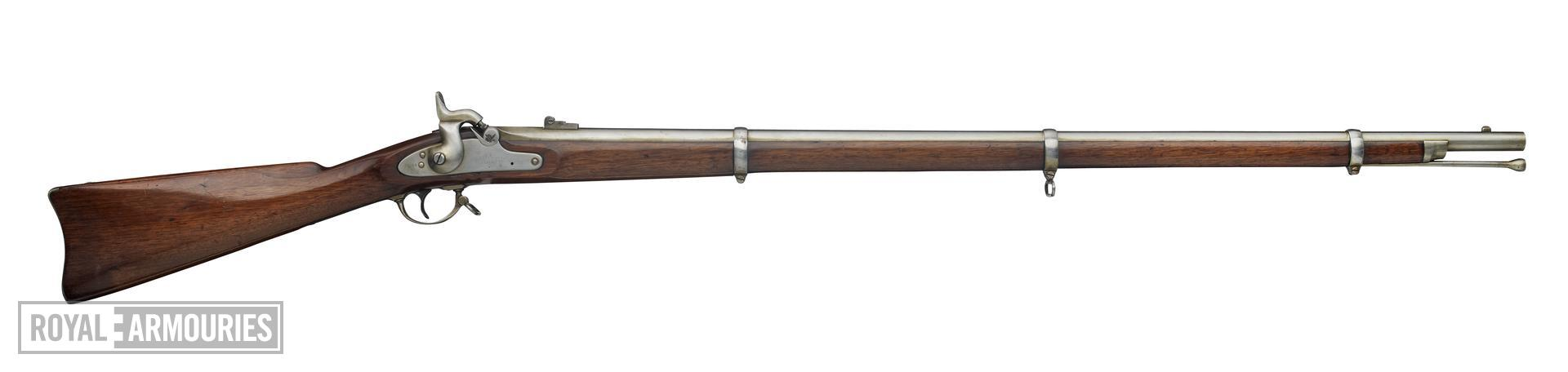 Percussion muzzle-loading military musket - Colt Model 1861