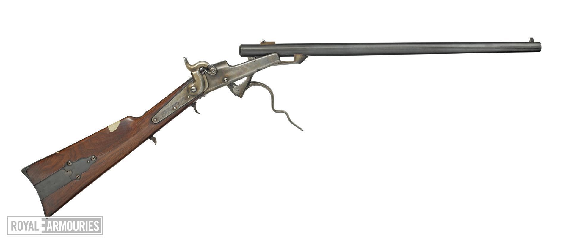 Rimfire breech-loading carbine - Gallager Carbine