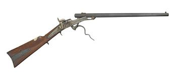 Thumbnail image of Rimfire breech-loading carbine - Gallager Carbine
