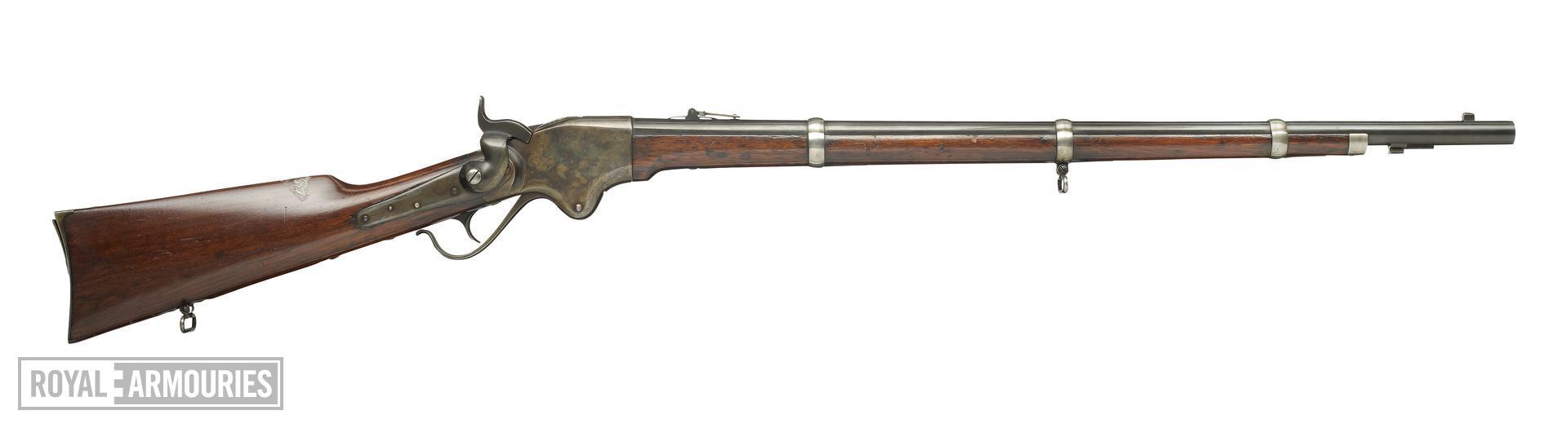 Rimfire lever-action magazine rifle - Spencer 1860 Pattern