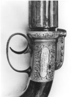 Thumbnail image of Percussion six-shot pepperbox by Thomas Jackson, 29 Edward St., Portman Square