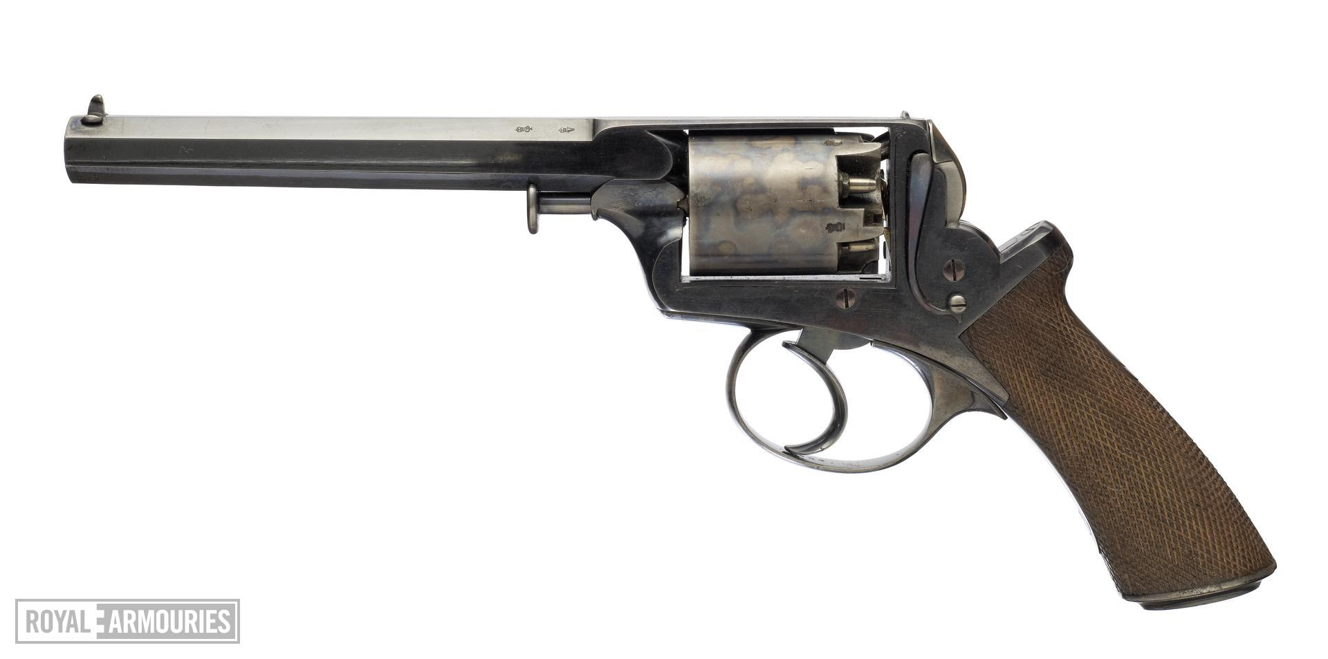 Percussion five-shot revolver - Adams Model 1851