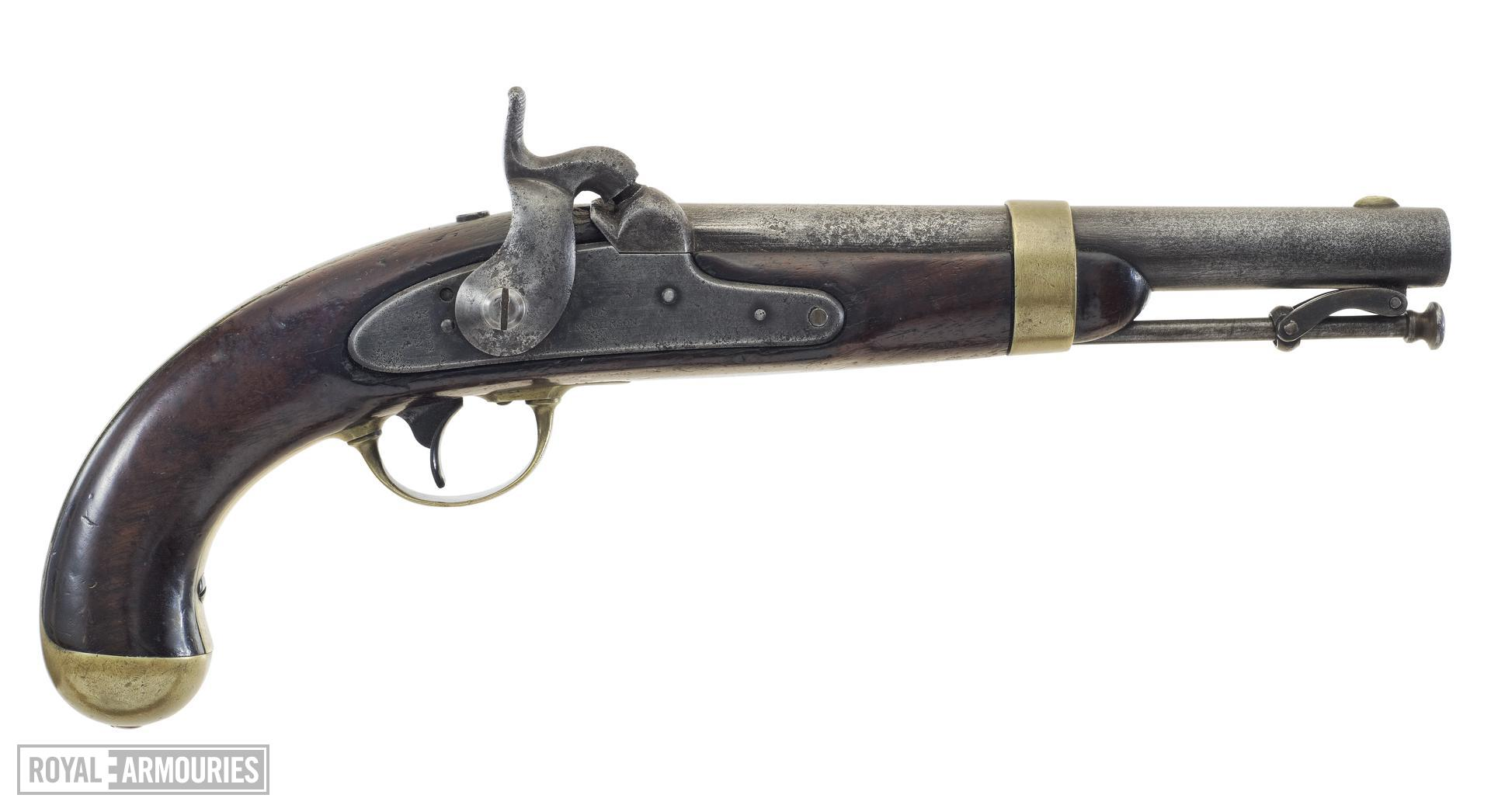 Percussion military pistol - Pattern 1842