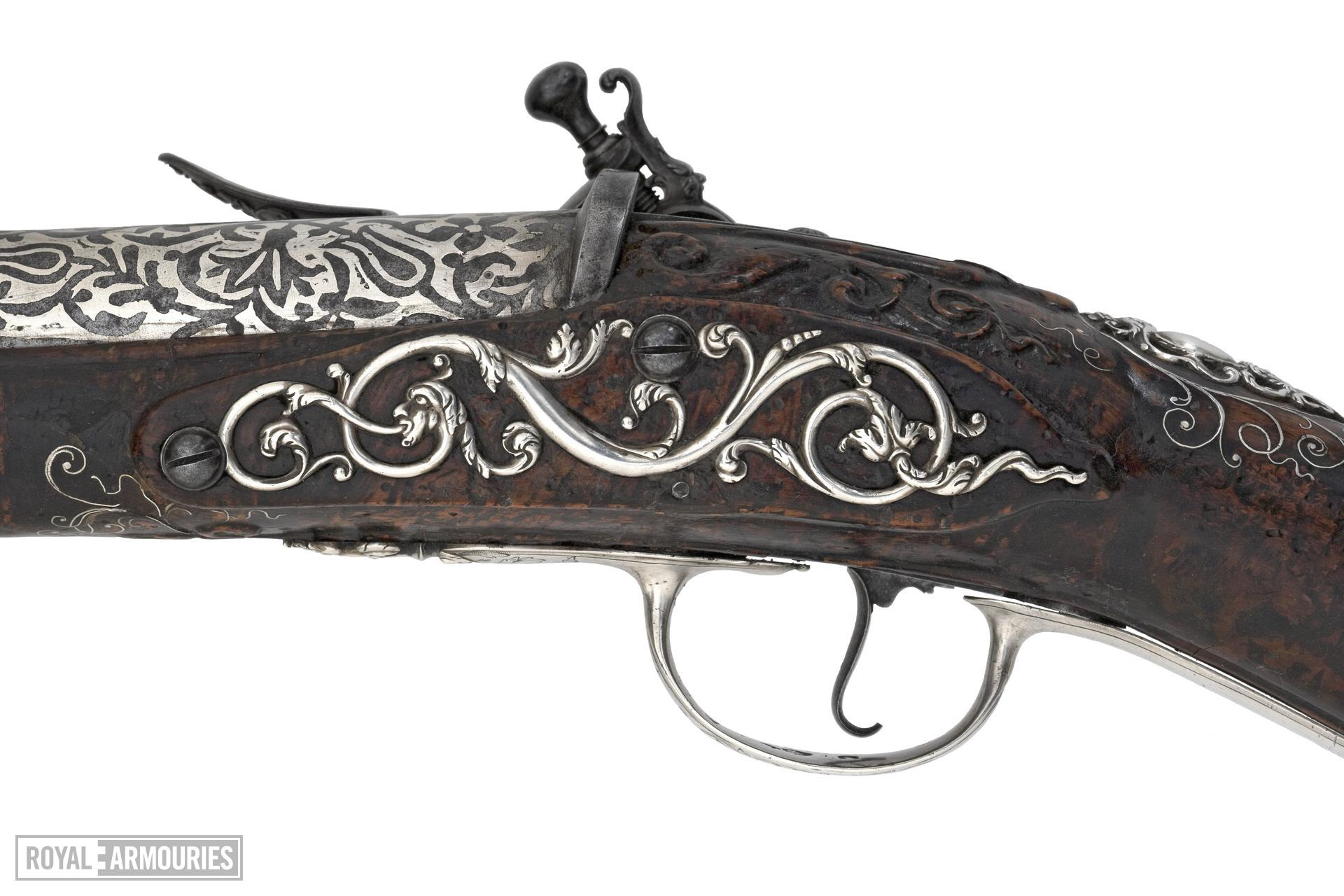 Flintlock sporting gun - By Henry Crisp